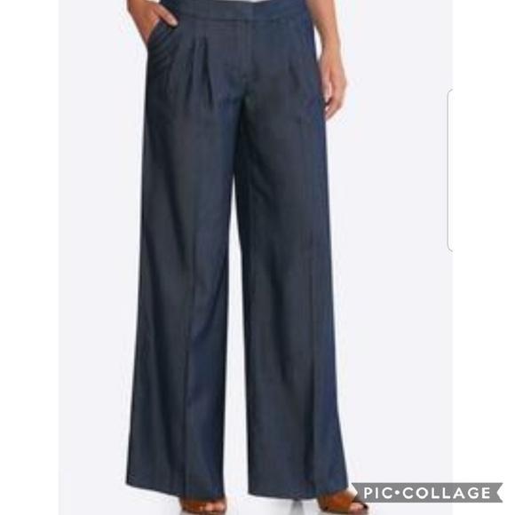 51be9072b25 Cato Pants - Cato Wide Leg Pinstripe Trouser